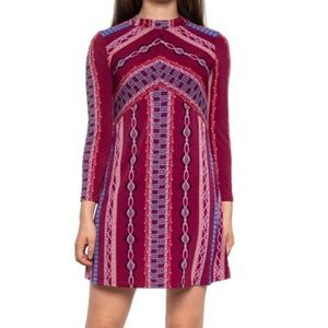 Free People Stella Mini Purple Dress Sz S